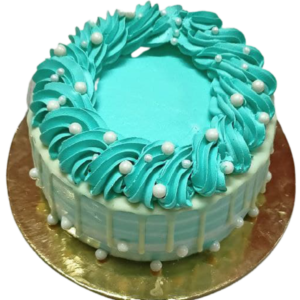 Fondant Fountain Birthday Cake 1
