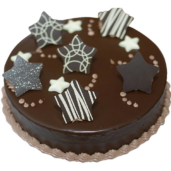 Fondant-Fountain-Chocolate-Cake