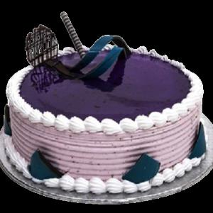 Fondant-Fountain-Black-Current-Cake