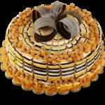 Fondant-Fountain-Butterscotch-Cake