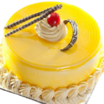 Fondant-Fountain-Mango-Cake