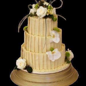 Fondant-Fountain-Wedding-Cake-