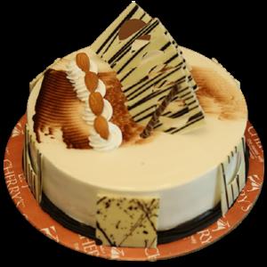 Fondant-Fountain-Honey-Almond-Cake